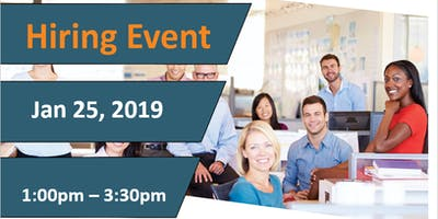 Vancouver Northeast Hiring Fair - January 25, 2019