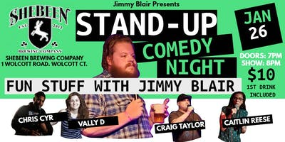 Comedy Night - Fun Things With Jimmy Blair