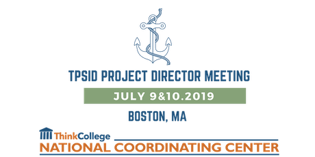 2019 Project Director Meeting tickets