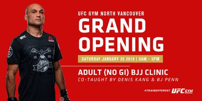 Adult BJJ Clinic Co-Taught by BJ Penn