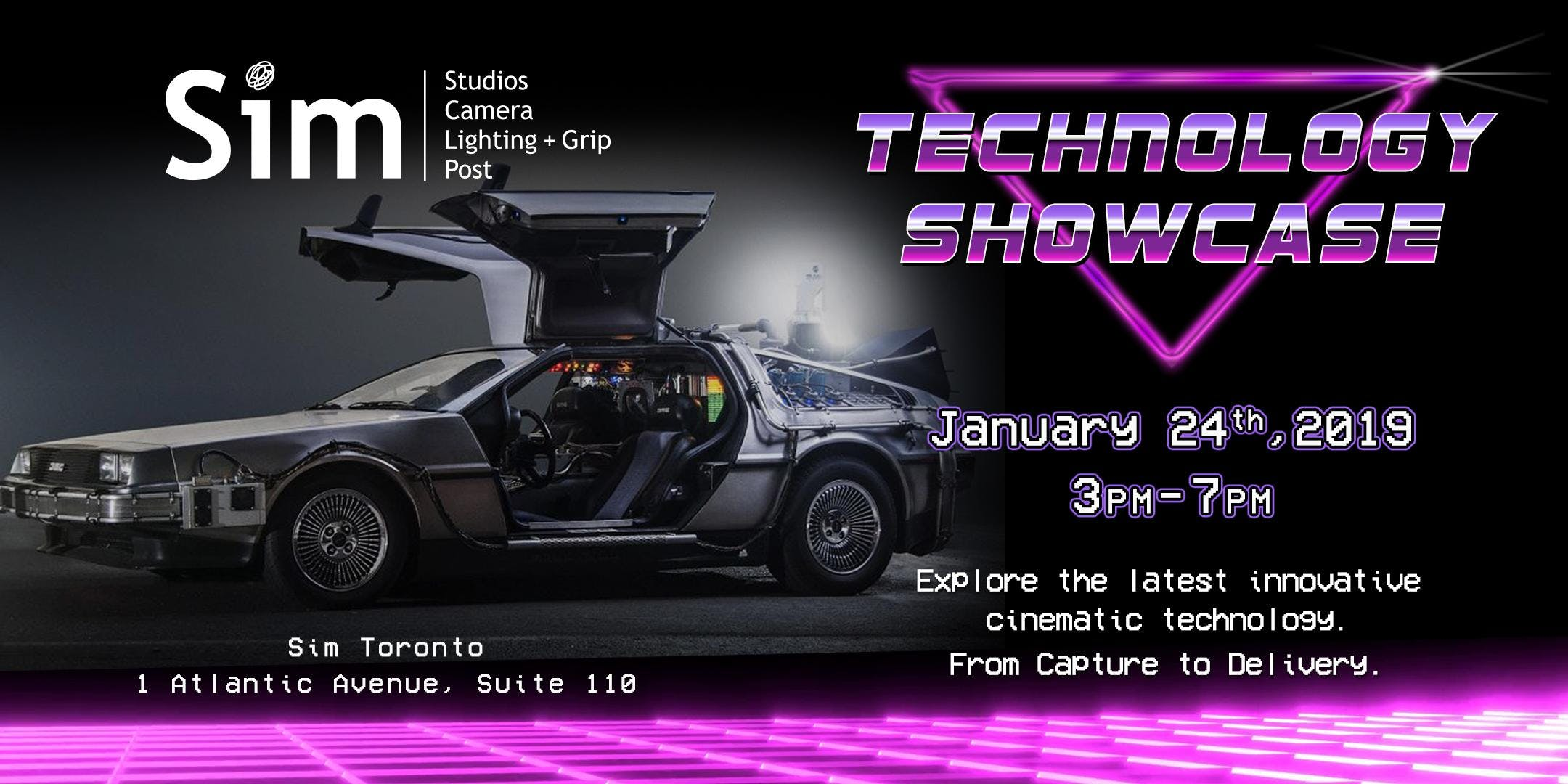 Sim Toronto Technology Showcase