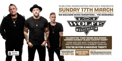 Wolfe Brother at Publican, Mornington