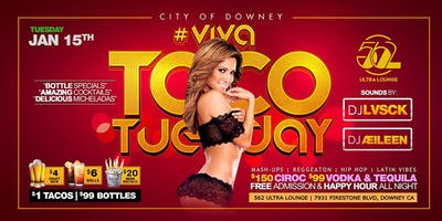 Viva Taco Tuesday at 562 Ultra Lounge