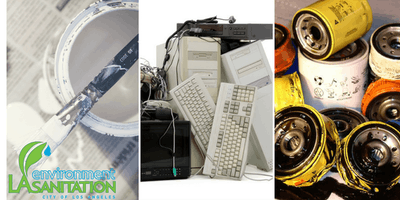 Used Oil, Paint and E-waste Mobile Collections at South Park Recreation Center