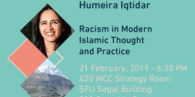 Racism:  Perspectives from South Asian Islamic Thought and Practice