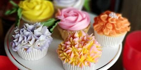 Spring Flower Cupcake Class tickets