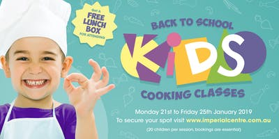 Back to School Kids Cooking Classes with Andrew Church