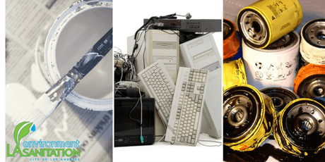 Aug 17 - Used Oil, Paint and E-waste Mobile Collections at Sylmar Recreation Center tickets