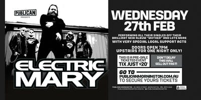 Electric Mary at Publican, Mornington