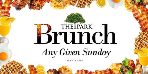 Park Sundays Brunch + Day Party: FREE ADMISSION: Text 202.422.2057 for Table Reservations