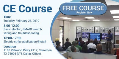 LTS Free CE Course - Electric Strike Installation and Wiring