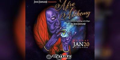 AfroAlchemy: Afrofuturism Art Show by Jessi Jumanji