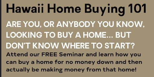 Hawaii Home Buying 101