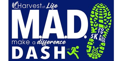 M.A.D. Dash Fun Run & 5K Races, Pancake Breakfast, and Silent Auction