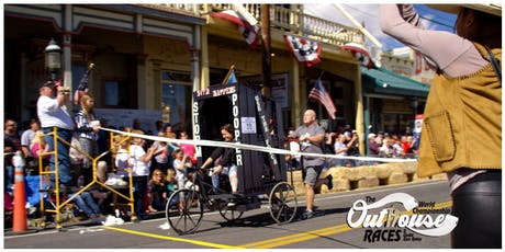 30th Annual Virginia City World Championship Outhouse Races October 5th & 6th @ NOON Each Day tickets