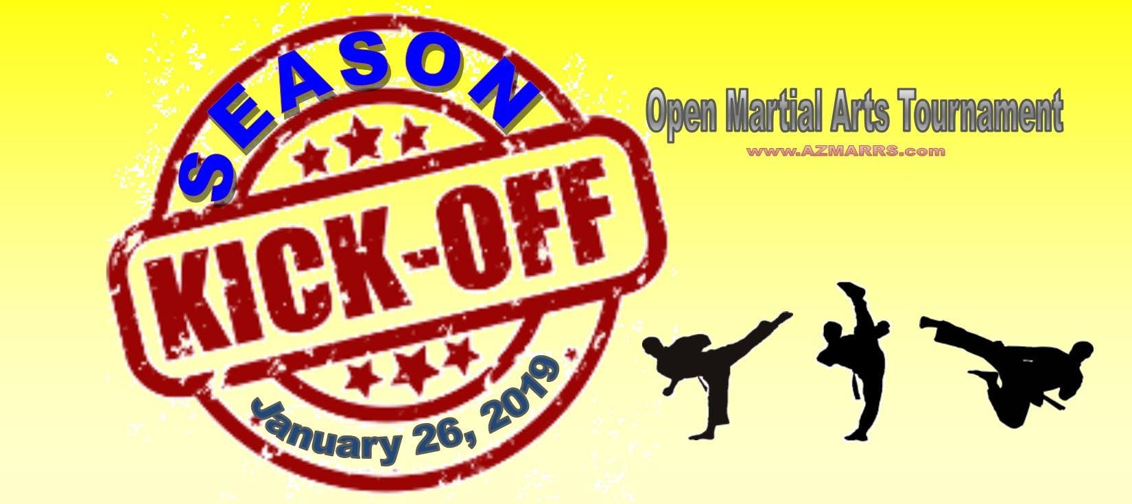 2019 Season Kick-Off Karate Tournament