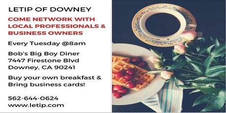 LeTip Networking Breakfast | Referral Group |  tickets
