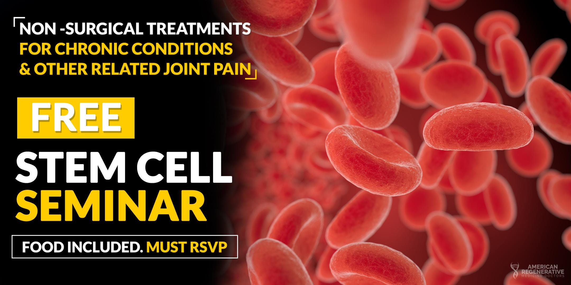 FREE Regenerative Stem Cell Seminar for Pain