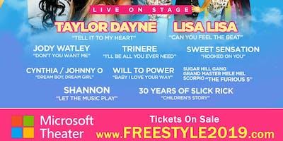 Vanilla Ice, Lisa Lisa, Taylor Dayne, Jody Watley, Sweet Sensation & More!