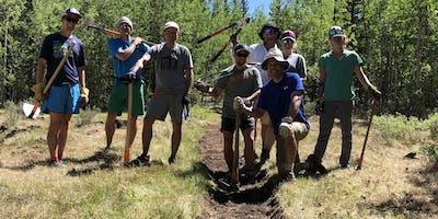 2020 HPRS Trail Work Day #4