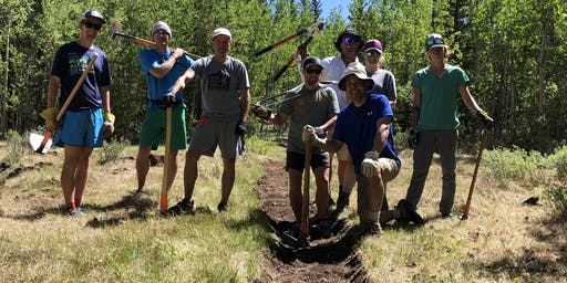 2020 HPRS Trail Work Day #4