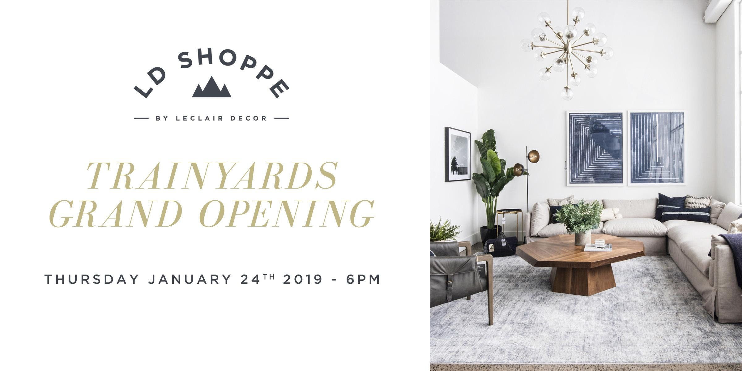 LD Shoppe Trainyards Grand Opening