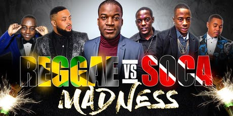 REGGAE VS SOCA VS KOMPA MADNESS  tickets