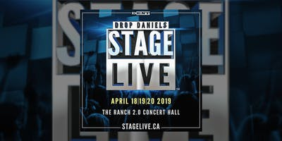 Drop Daniels STAGE LIVE™ 2019