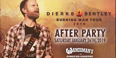 Dierks Bentley: Burning Man Tour - After Party!