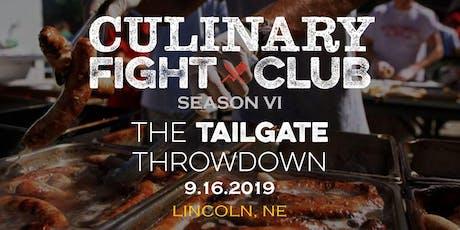Culinary Fight Club - LINCOLN, NE: The Tailgate Throwdown tickets