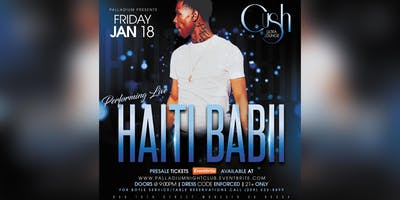 HAITI BABII performing live @ the Palladium Nightclub in Modesto