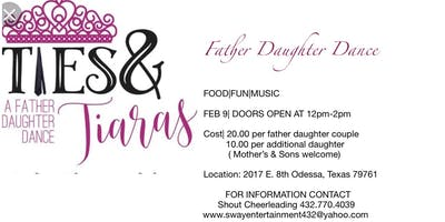 Ties & Tiaras A Father Daughter Dance