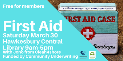 First Aid Training Autumn 2019