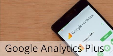 Google Analytics Plus (CNS) tickets