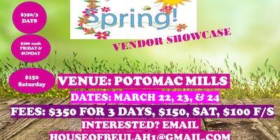 Spring Vendor Event @ The Potomac Mills