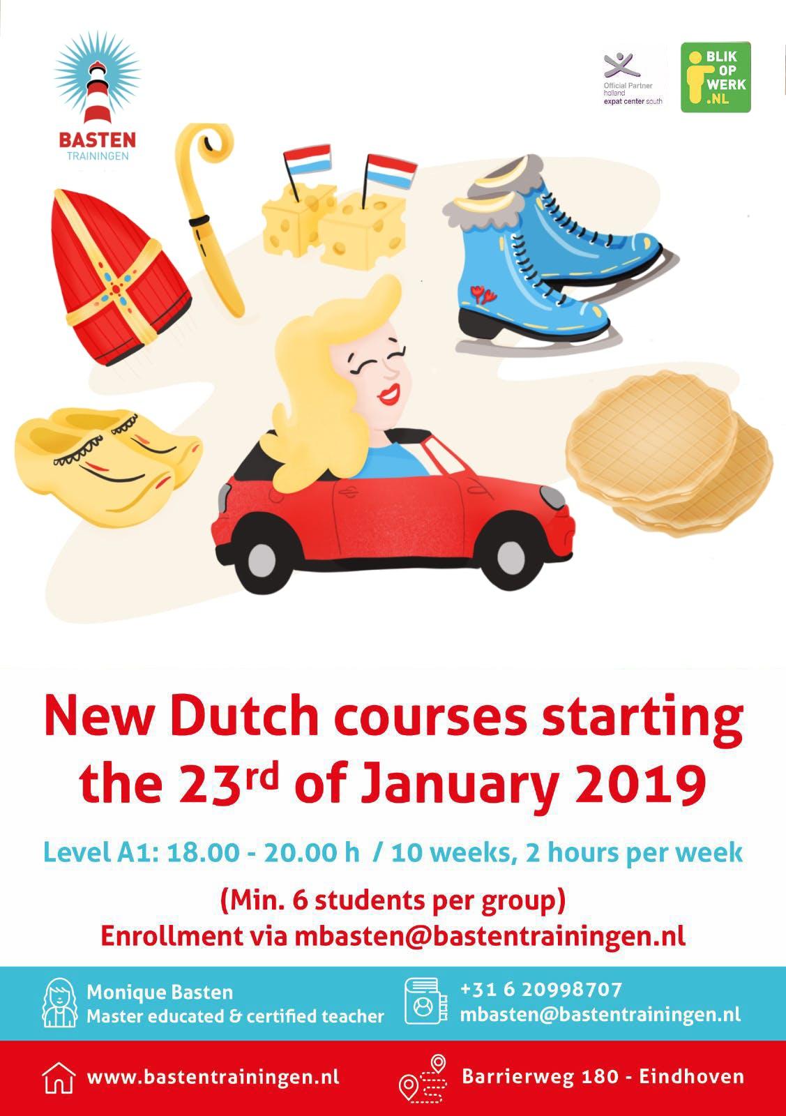 Dutch course - A1 Beginners