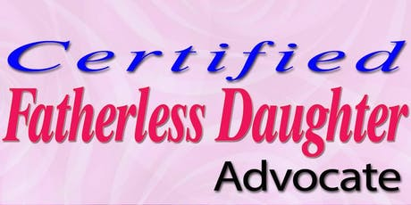 Fatherless Daughter Advocate Summit tickets