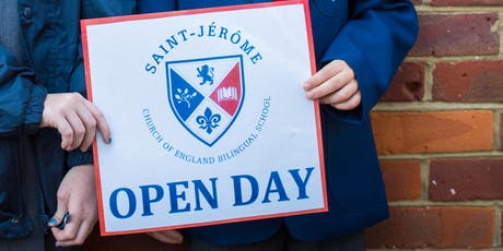 Open Day for Saint Jérôme Church of England Bilingual School tickets