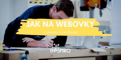 Jak na webovky s Jendou Pospíšilem | In-spiro