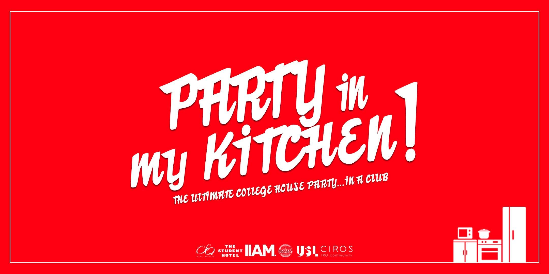 Party in my kitchen! - 3 areas - 100 FREE tic