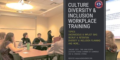 Culture, Diversity and Inclusion in the Workplace Training