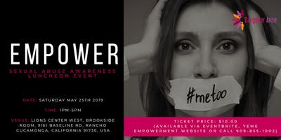 EMPOWER Sexual Abuse awareness luncheon event