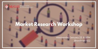 McGill Market Research Workshop
