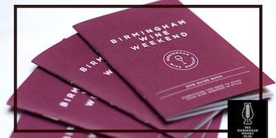 Birmingham Wine Weekend :: Whisky and Wine