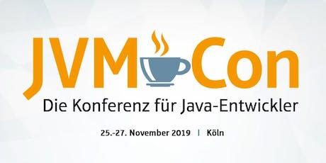 JVM-Con - Die Konferenz für Java-Entwickler 2019 Tickets