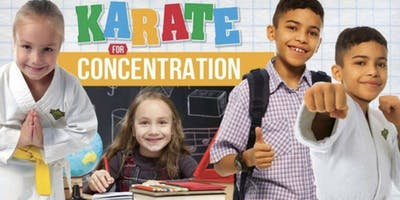Free Karate for Concentration Workshop for Kids Ages 8-12