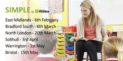 Simple Classroom Monitor Customer Roadshow Birmingham Solihull