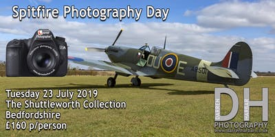 Spitfire Photography Day at The Shuttleworth Collection
