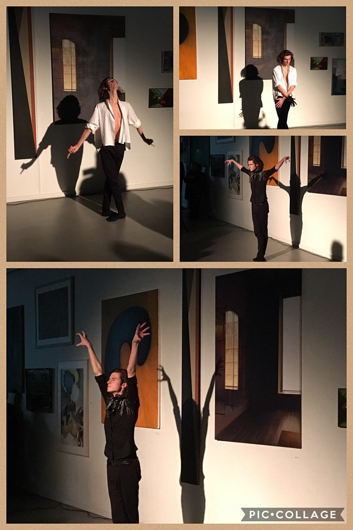 Afbeelding van Dubbel-GLASS: Niek KleinJan, percussie & Chris Kokkeel, dans