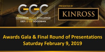 Awards Gala & Final Round of Presentations - Goodman Gold Challenge 2019